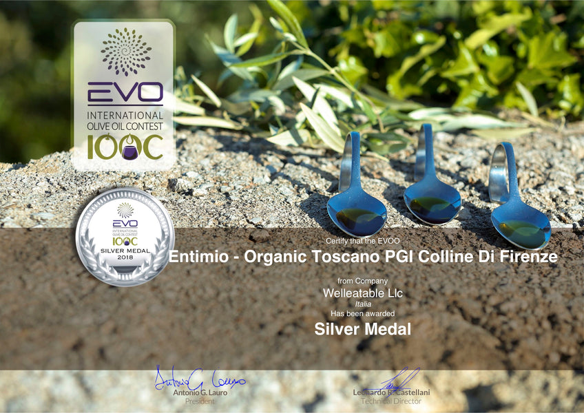 Entimio's Excellence Recognized Once Again at an International EVOO Competition