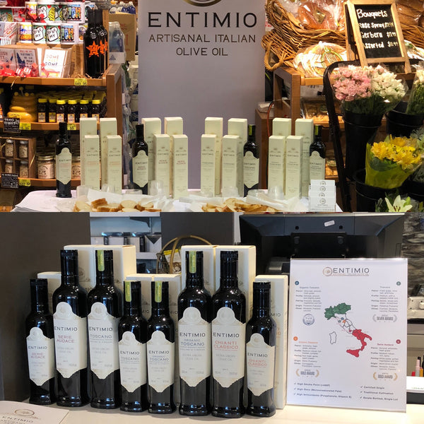 Entimio Italian Award-Winning Olive Oils Available in Houston Stores