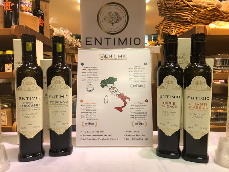 Entimio Olive Oil Tasting - Saturday, November 10th - Downtown Houston