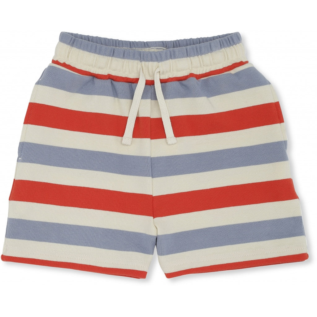Konges Slojd Lou Shorts-Tricolore Stripes