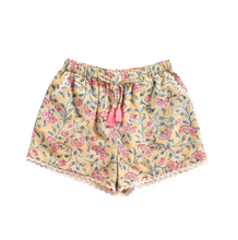 Load image into Gallery viewer, Louise Misha Vallaloid Shorts - Lemon Flowers