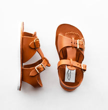 Load image into Gallery viewer, Zimmerman Stevie Sandal w/ Removable Fringe Warm Brown
