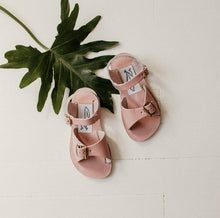 Load image into Gallery viewer, Zimmerman Stevie Sandal w/ Removable FringeBlush
