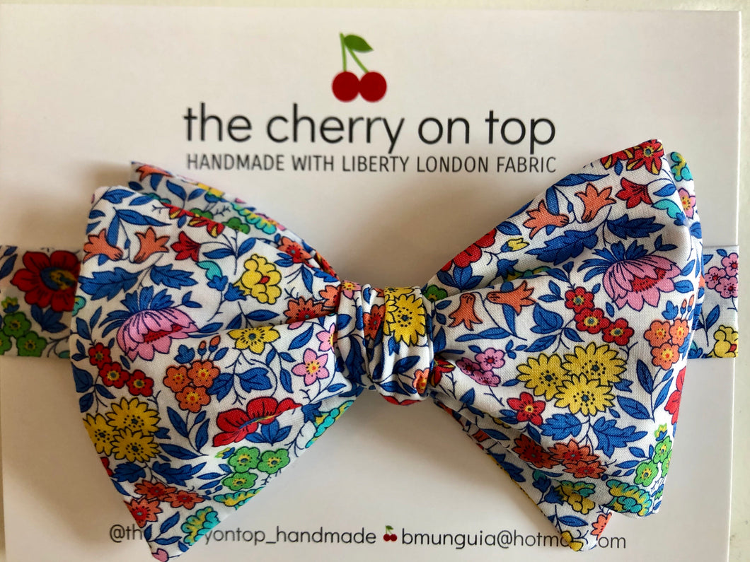 Liberty Bow Tie-Favourite Flowers