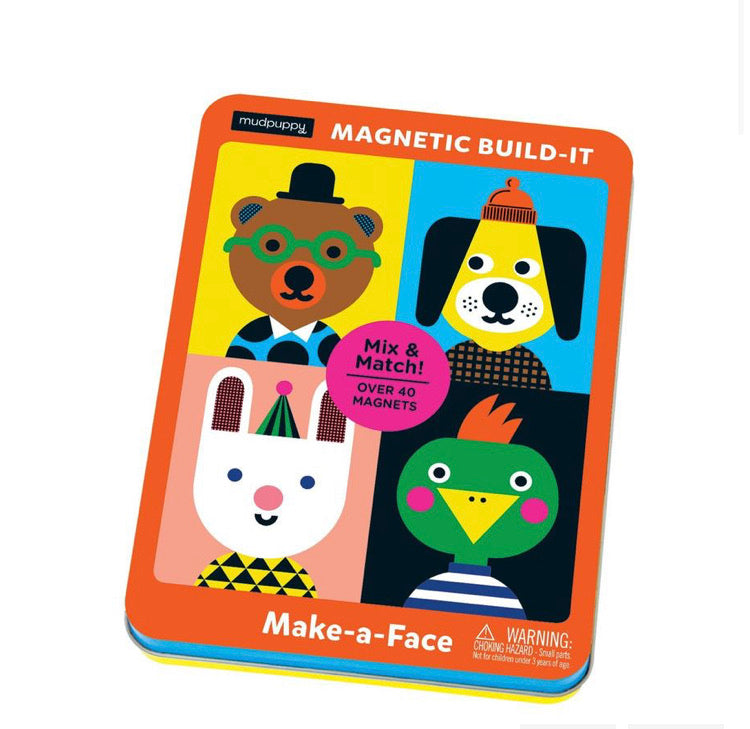 Mudpuppy Magnetic Build-it Make A Face