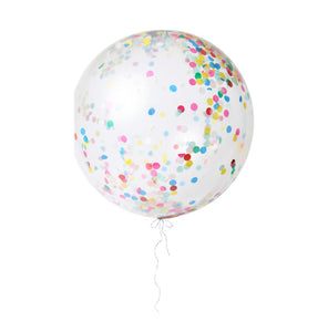 Meri Meri Pastel Giant Confetti Balloon Kit-Set of 3