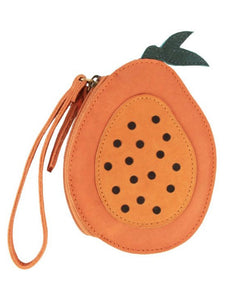 Donsje Nanoe Fruit Coin Purse Papaya