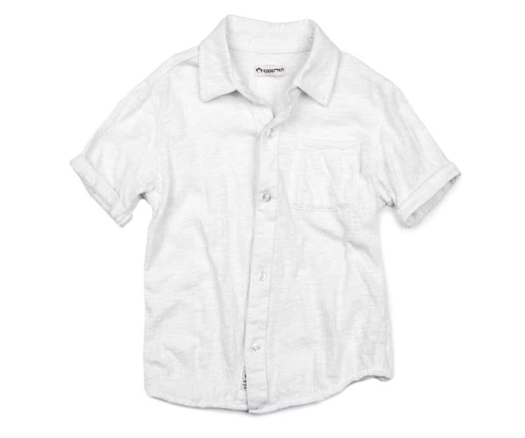 Appaman White Beach Shirt