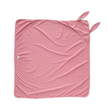 Load image into Gallery viewer, Oeuf Baby Bunny Blanket-Dark Pink/Tulips