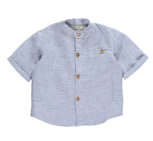 Olivier London Otis Pale Blue Linen