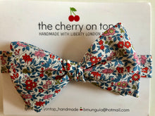 Load image into Gallery viewer, Liberty Bow Tie-Floral
