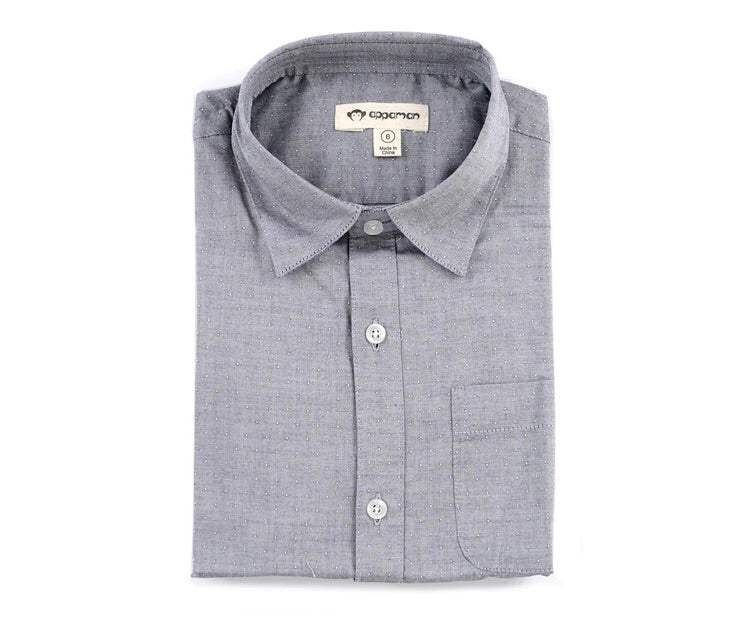 Appaman Grey Standard Shirt