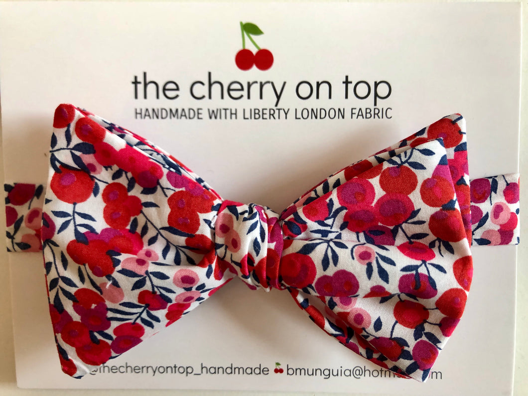 Liberty Bow Tie-Wiltshire Berry