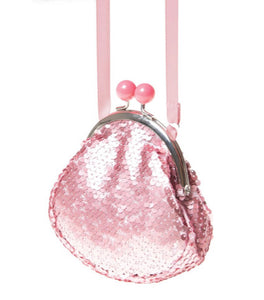 Rockahula Retro Sequin Frame Bag-Pink