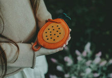 Load image into Gallery viewer, Donsje Nanoe Fruit Coin Purse Papaya