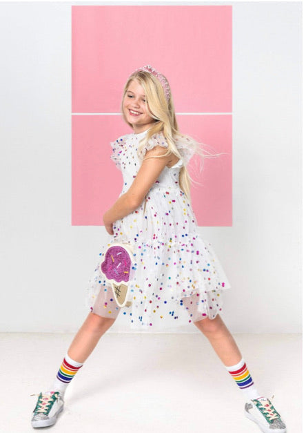 Lola & The Boys Funfetti Dress