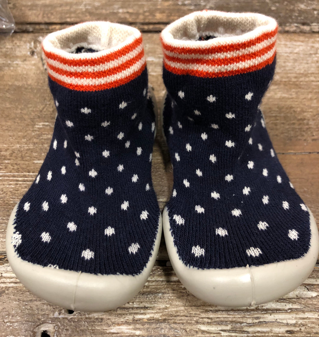 Collegien Polka Dot Slipper Socks