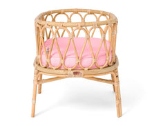 Load image into Gallery viewer, Poppie Rattan Crib