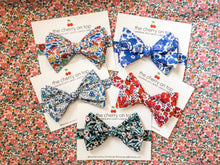 Load image into Gallery viewer, Liberty Bow Tie-Betsy Blue
