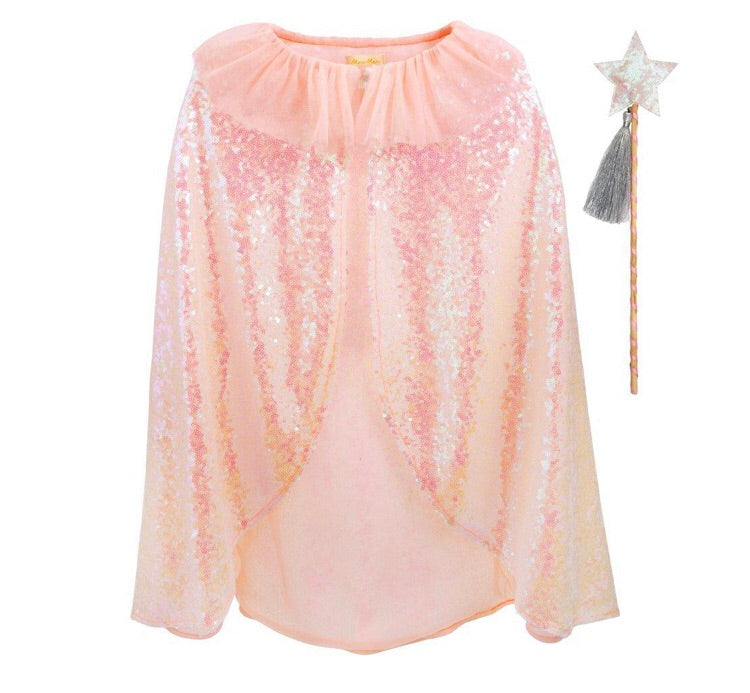 Meri Meri Sequin Cape & Wand Dress Up