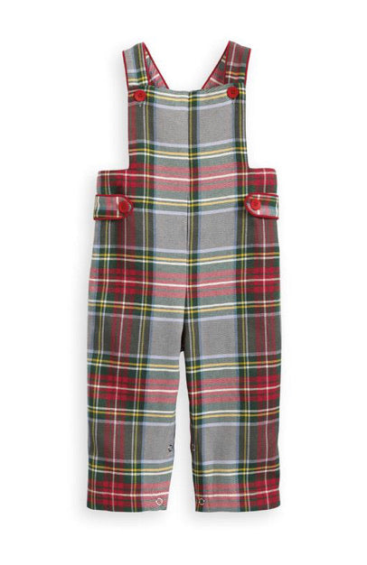 Bella Bliss Seasonal Field Overall-Kingston Plaid