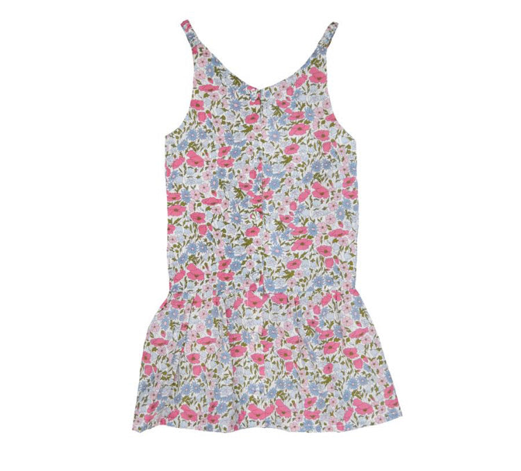 Coco & Wolf Liberty Poppy & Daisy Brittney Dress