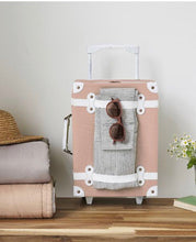 Load image into Gallery viewer, Olli Ella SeeYa Suitcase-Rose