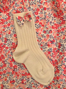 Lula Buttermilk/Wiltshire Berry Ankle Socks