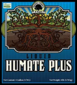 Humate Plus organic liquid soil amendment label
