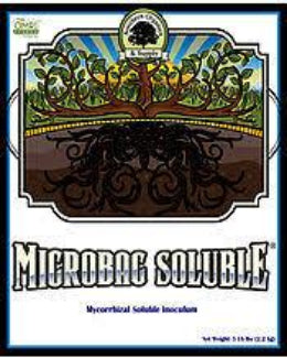 Microbac Soluble Mycorrhizae root microbes label