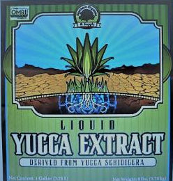 Liquid Yucca Extract wetting agent surfactant