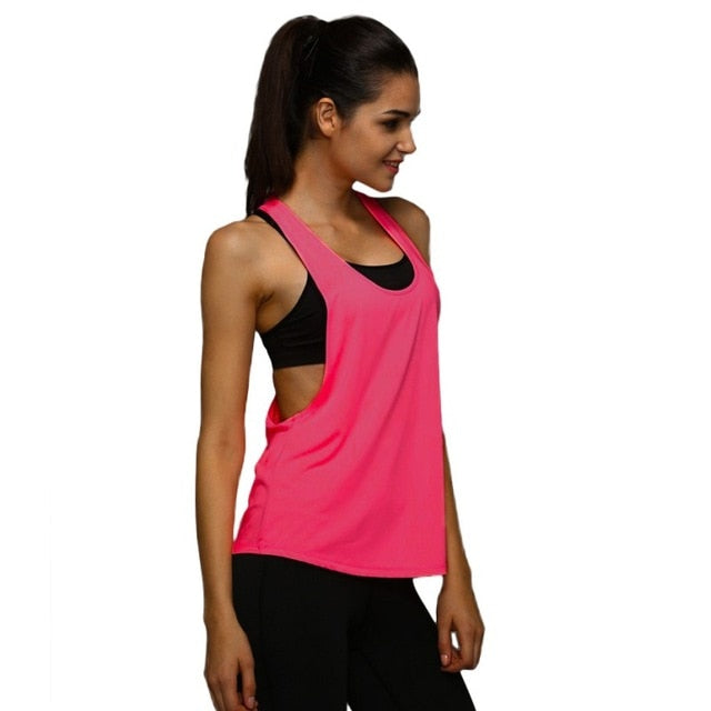 Crop Top  Quick Dry Yoga Shirts