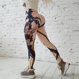 Printed Leggings (cartoon/pattern/wrinkled)