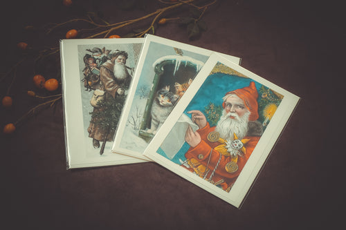 Victorian Holiday Cards