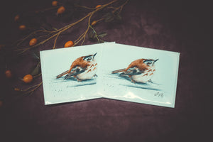 Electric Birds Notecards