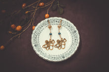 Load image into Gallery viewer, Gold Octopus Earrings