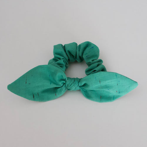 Green Rainbow Scrunchie-B2G1HALFOFF