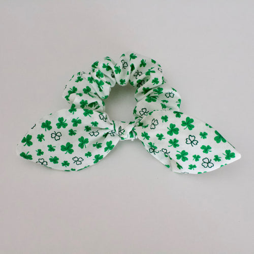 Field of Clover Scrunchie-B2G1HALFOFF