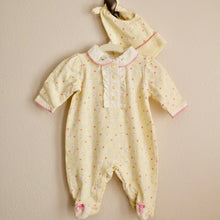 Load image into Gallery viewer, Yellow Ruffle Layette - 0-3MO