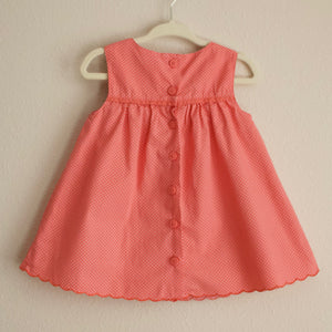 Polka Dot Butterfly Dress - 6-12MO