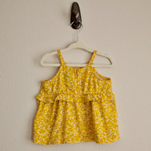 Load image into Gallery viewer, Yellow Floral Tank - 18-24MO