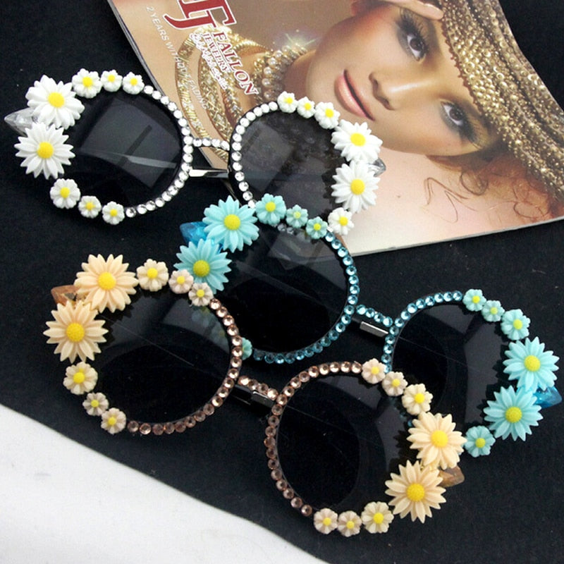 Luxury Daisy Sunglasses