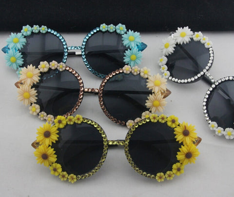 Image of Luxury Daisy Sunglasses