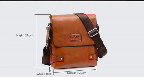 Image of Leather Messenger Bags