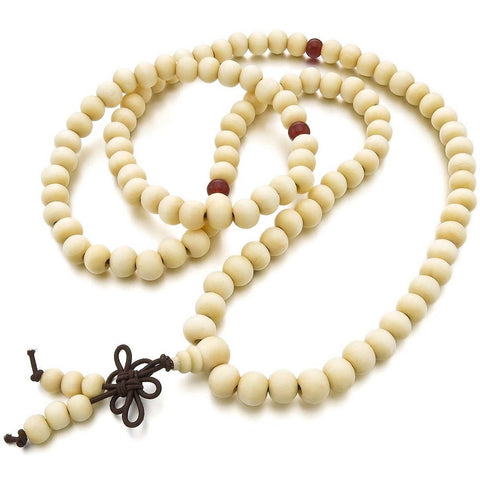 Buddhist Prayer Bracelet and Necklace