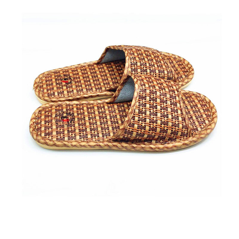Men Rattan  Slippers