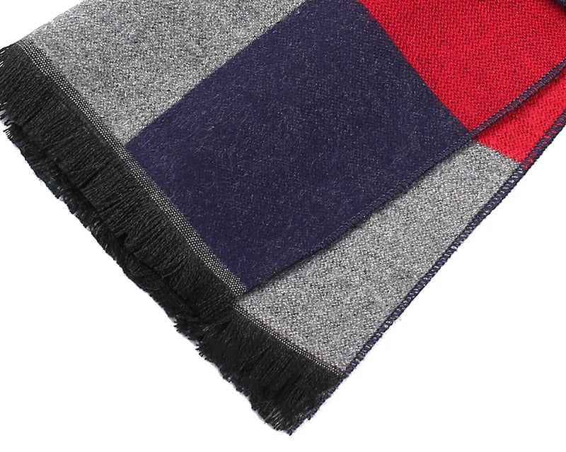 Striped Business Scarf