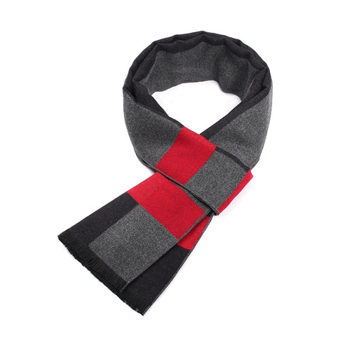 Image of Striped Business Scarf