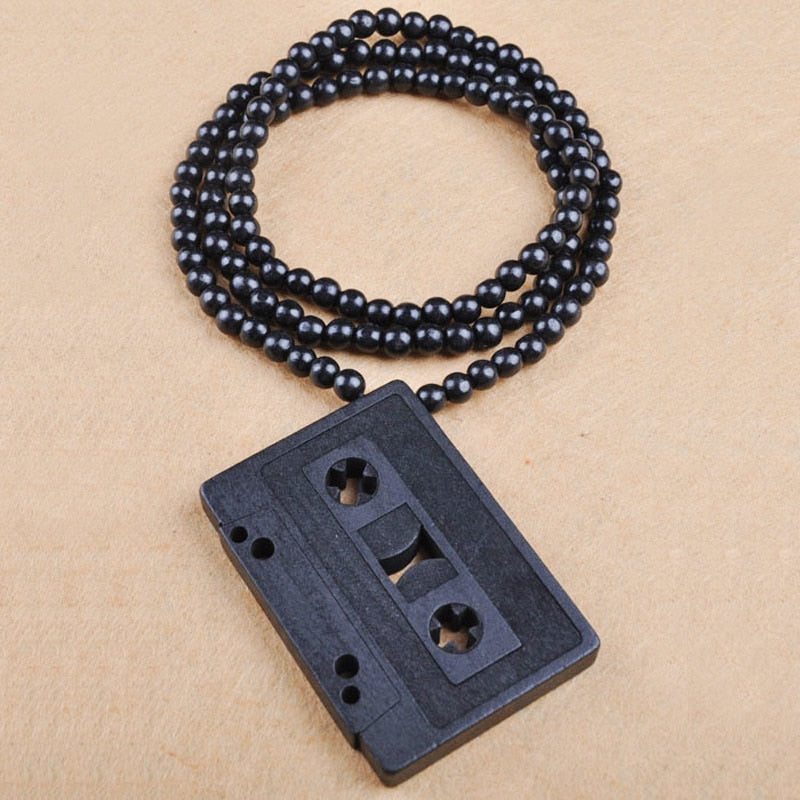 Vintage Bead Radio Necklace