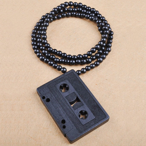 Image of Vintage Bead Radio Necklace